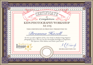 Breanna-Radiant-Image-Certificate-of-Completion